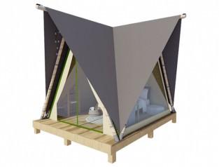 Палатка «ПРИЗМА» 4х4.5 панорманая