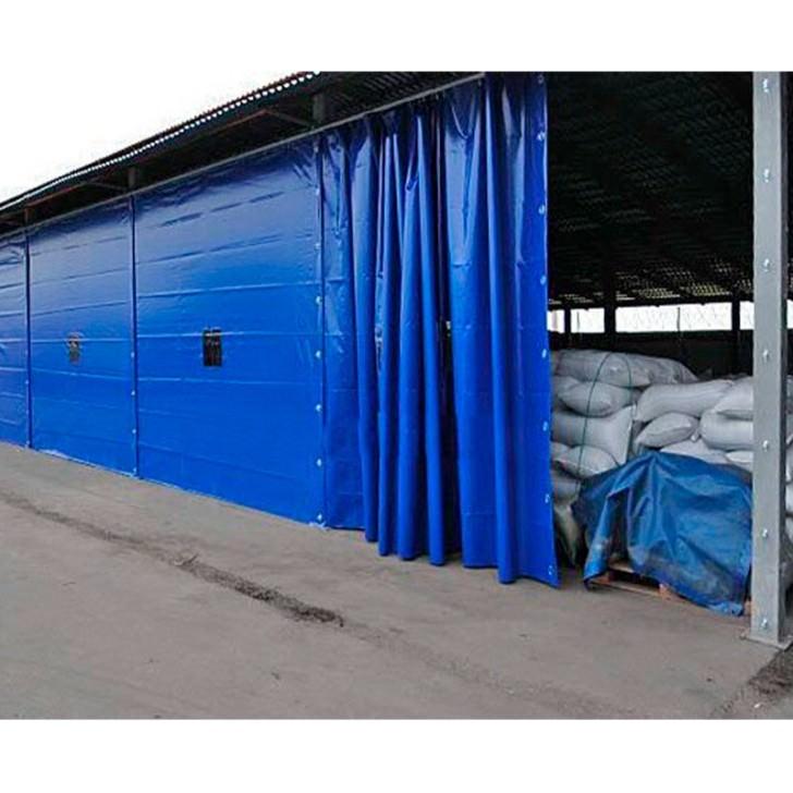Завеса 2 х 6 м из пвх ( утепленная )